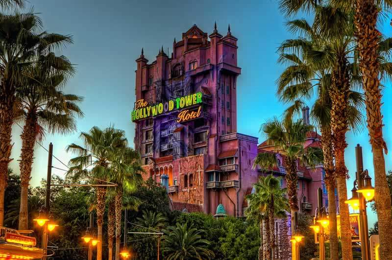 parque disney hollywood studios tower of terror