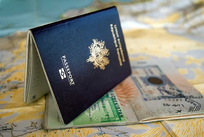 passaporte e visto estados unidos
