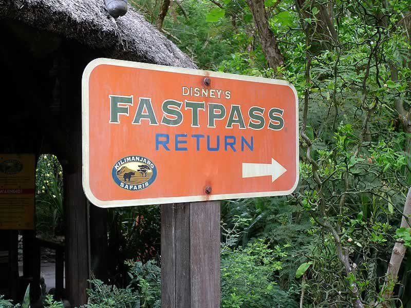 FastPass Kilimanjaro Safaris Animal Kingdom 2